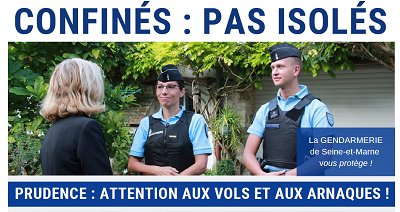 FICHE PREVENTION GENDARMERIE